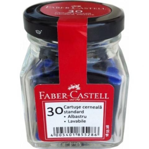 Cartuse stilou Faber--Castell borcanas 30 bucati