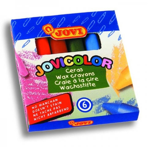 Creioane cerate Jovicolor 6 culori art 980/6