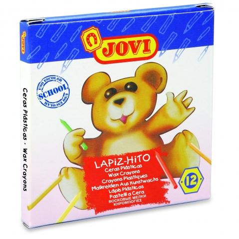 Creioane colorate Lapiz-Hito Jovi 12 culori art 959/12