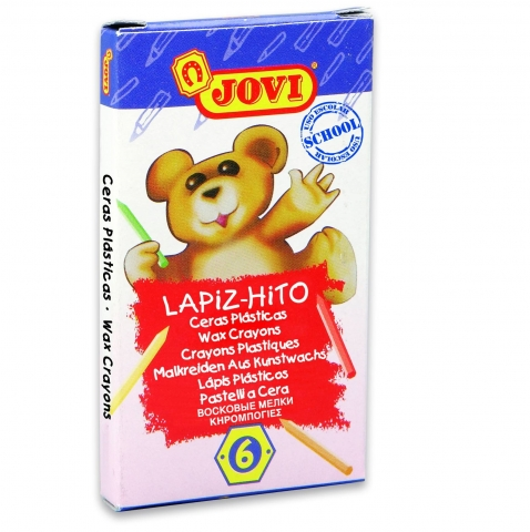 Creioane colorate Lapiz-Hito Jovi 6 culori art 959/6