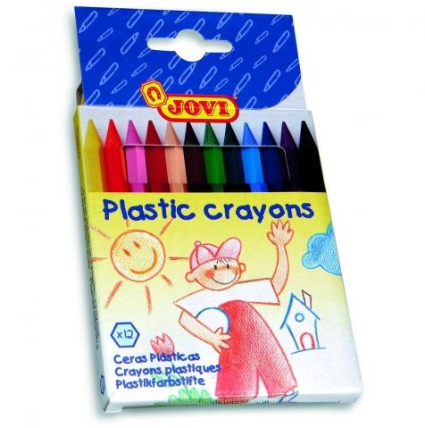 Creioane colorate hexagonale Jovi 12 culori art 912