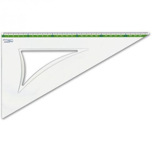 Echer Aluminiu 60 grade 30 cm art 18130