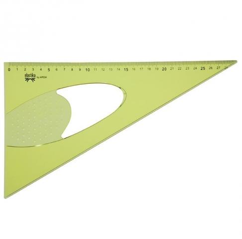Echer Elastica 60 grade 30 cm art EL 6030