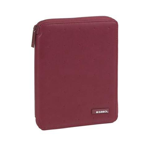 Geanta laptop/mapa A4 business casual Gabol, rosie, colectia Alpha 409303