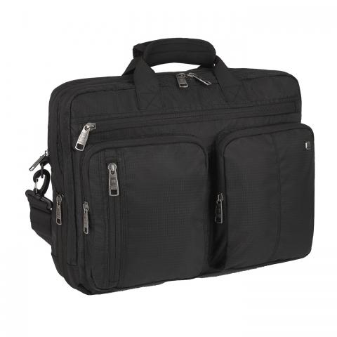 Geanta servieta/ de umar business Gabol, colectia Dark, laptop 15,6 inch 410621