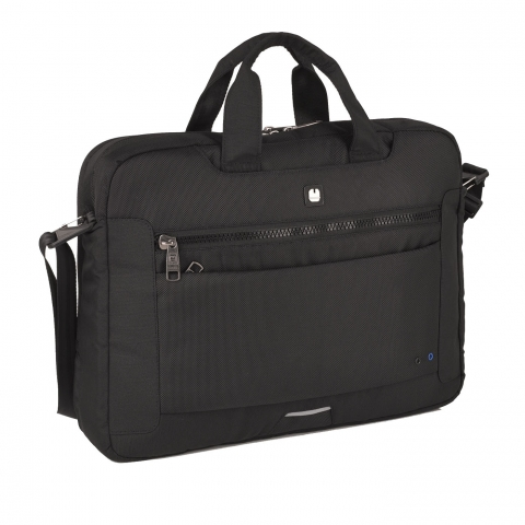 Geanta servieta/ de umar business Gabol, colectia Info, laptop 15,6 inch 410120