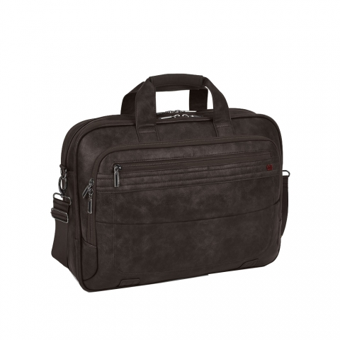 Geanta servieta/ de umar business casual colectia Civic 409730, laptop 15.6 inch
