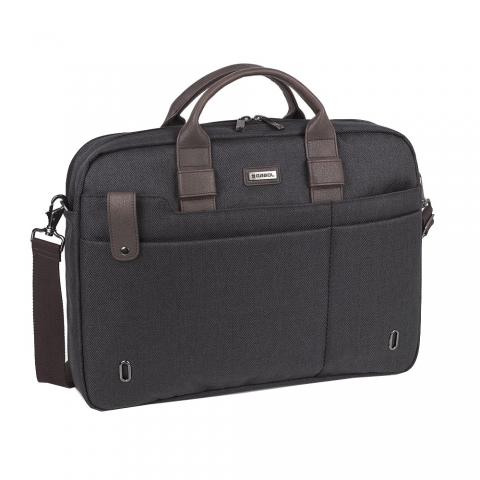Geanta servieta/ de umar business casual colectia Master 409520, laptop 15.6 inch