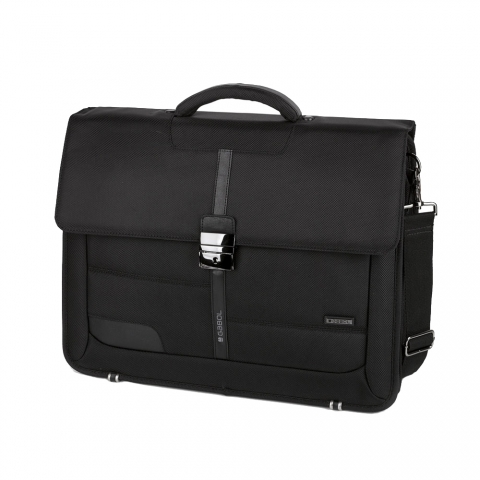 Geanta servieta business colectia Stark 408130, laptop 15.6 inch