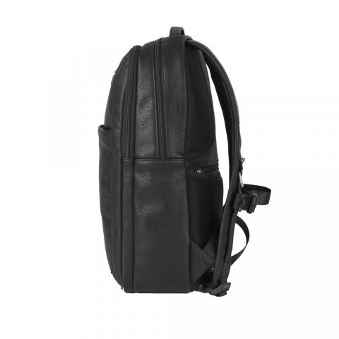 Ghiozdan business casual Gabol, piele ecologica, protectie anti RFID, colectia Report, laptop 15,6 inch 410355