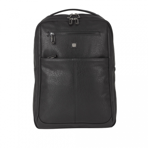 Ghiozdan business casual Gabol, piele ecologica, protectie anti RFID, colectia Report, laptop 15,6 inch 410355
