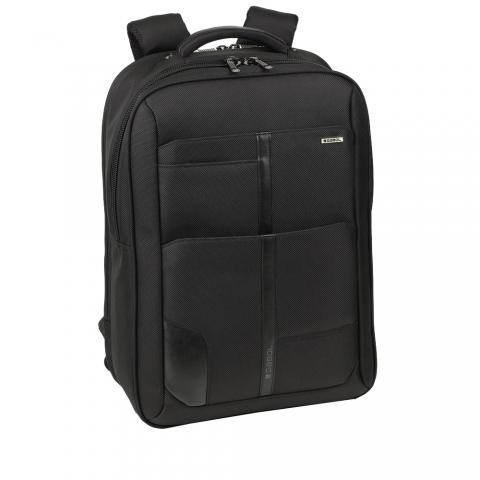 Ghiozdan business casual colectia Stark 408107, neagra, laptop 15,6 inch