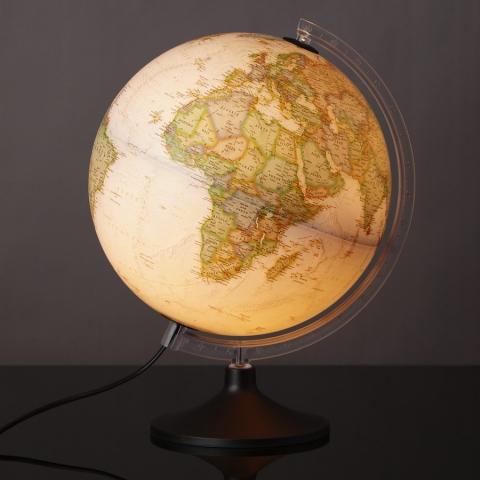 Glob iluminat National Geographic Carbon Executive 30 cm