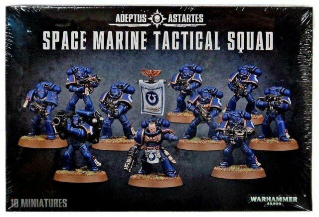 Joc Games Workshop Space Marine Tactical Squad