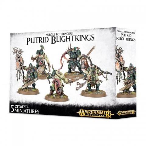 Joc Warhammer Age of Sigmar - Nurgle Rotbringers Putrid Blightkings