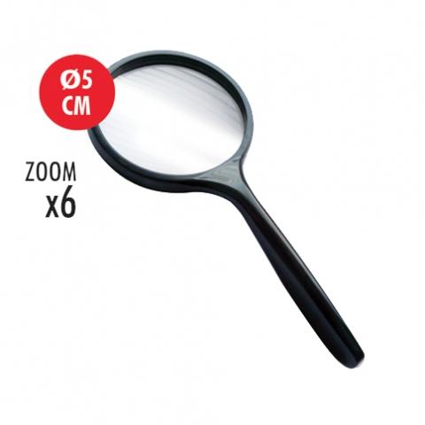 Lupa Arda art 630, cu diametrul de 50 mm, zoom X6