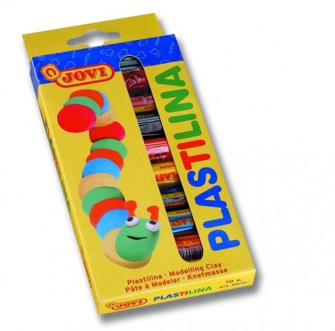 Plastilina 10 culori JOVI 15 grame art 90/10