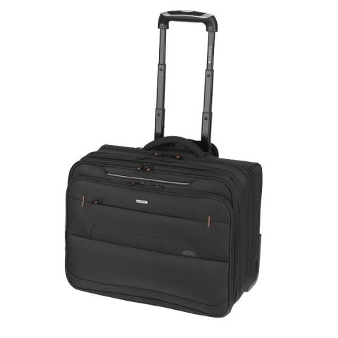 Troller business cu 3 compartimente colectia Pilotos 404311, laptop 15,6 inch