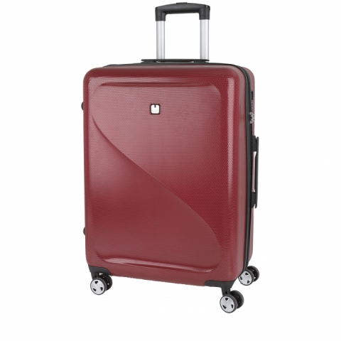 Troller de cabina avion Gabol colectia Sand, 4 roti, rosu 118222008