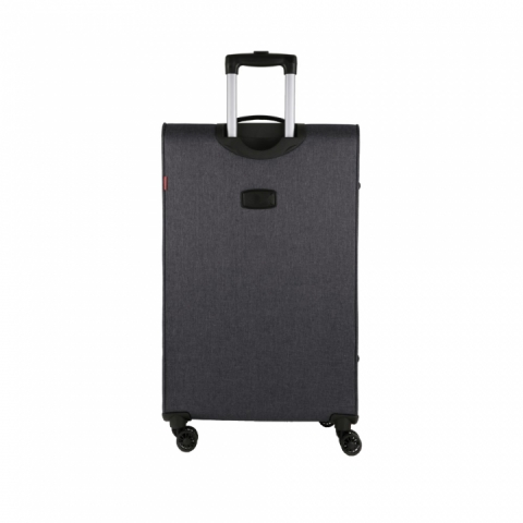 Troller mare Gabol colectia Board 4 roti, negru 116347001